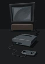 Concept art : la console