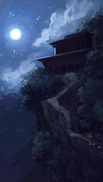 Concept art : le monastère