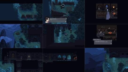 Screenshots du monastère